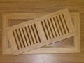 strand woven bamboo register covers