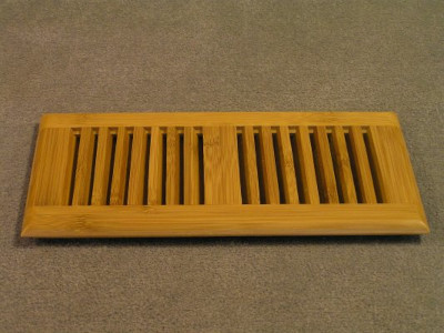 top mount bamboo floor vent