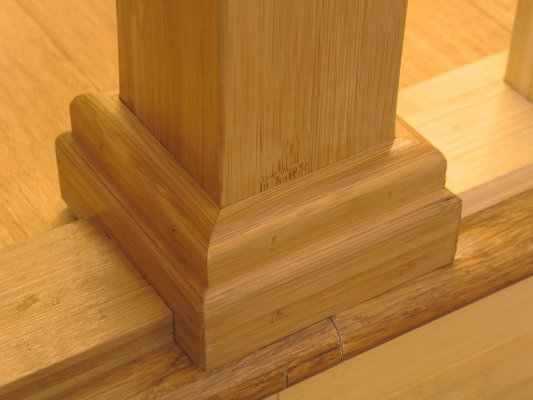 bamboo Newel Post Mount Kit