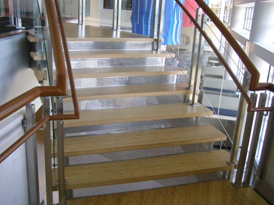bamboo stair treads